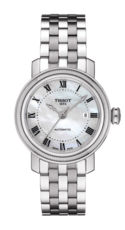 Tissot Bridgeport Mother of Pearl Dial Stainless Steel Womens Watch T0970071111300
