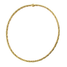 Chimento 18ct Yellow Gold Stretch Classic Necklace 1G00850ZB1450