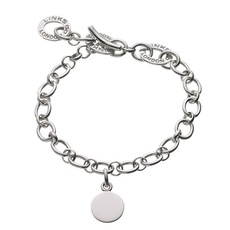 Links of London Child's Sterling Silver Baby Disc Charm Bracelet 4510.0133