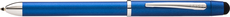 Cross Tech3 Metallic Blue Multifunction Ballpoint Pen/Pencil AT0090-8
