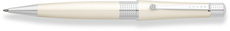 Cross Beverly White Lacquer Ballpoint Pen AT0492-2