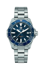 TAG Heuer Aquaracer Blue Dial & Bezel Stainless Steel Mens Quartz Watch WAY111C.BA0928