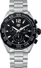 TAG Heuer Formula 1 Black Dial Chronograph Stainless Steel Mens Quartz Watch CAZ1010.BA0842