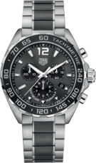 TAG Heuer Formula 1 Chronograph Stainless Steel & Ceramic Mens Quartz Watch CAZ1011.BA0843