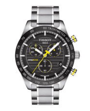 Tissot PRS 516 Black Dial Stainless Steel Mens Quartz Chronograph Watch T1004171105100