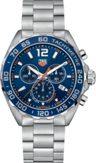 TAG Heuer Formula 1 Blue Dial Stainless Steel Mens Quartz Chronograph Watch CAZ1014.BA0842