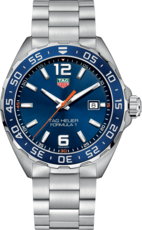 TAG Heuer Formula 1 Blue Dial Stainless Steel Mens Quartz Watch WAZ1010.BA0842