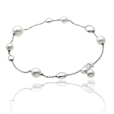 Chimento 18ct White Gold Armillas Acqua Pearl Bracelet 1B01461PP5190