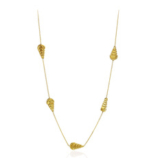 Chimento 18ct Yellow Gold Armillas Moon Necklace 1G01520ZZ1450
