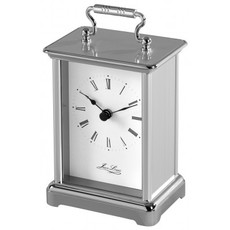 Jean Louis Chrome Plated Quartz Carriage Clock 1445