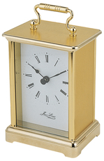Jean Louis Gold Plated Quartz Carriage Clock 1400