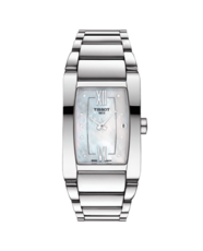 Tissot Generosi-T Mother of Pearl Diamond Set Dial Stainless Steel Womens Quartz Watch T1053091111600