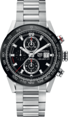 TAG Heuer Carrera Calibre HEUER 01 Automatic Stainless Steel Mens Chronograph Watch CAR201Z.BA0714