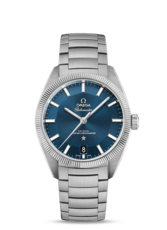 Omega Constellation Globemaster Omega Co-Axial Master Chronometer Blue Dial Stainless Steel Mens Watch 13030392103001
