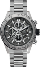 TAG Heuer Carrera Calibre HEUER 01 Automatic Grey Phantom Titanium Mens Chronograph Watch CAR2A8A.BF0707