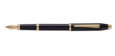 Cross Century II Black Lacquer Fountain Pen 419-1