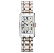 Longines DolceVita Silver Dial Two Tone Womens Quartz Watch L55125717