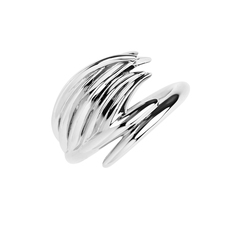 Shaun Leane Sterling Silver White Feather Ring (Size P) SLS660