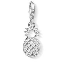 Thomas Sabo Charm Club Sterling Silver Pineapple Charm 1438-001-21