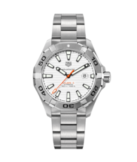 TAG Heuer Aquaracer White Dial Calibre 5 Automatic Stainless Steel Mens Watch WAY2013.BA0927
