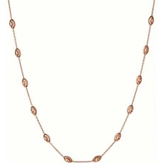 Links of London Rose Vermeil Essentials Beaded Chain Necklace (45cm) 5020.3376