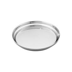 Georg Jensen Living Stainless Steel MANHATTAN Glass Coaster 3586083
