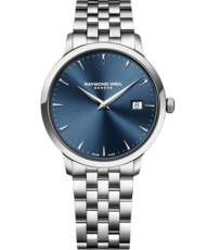 Raymond Weil Toccata Blue Dial Stainless Steel Mens Quartz Watch 39mm 5488-ST-50001