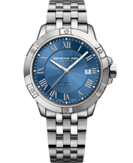 Raymond Weil Tango Blue Dial Stainless Steel Mens Quartz Watch 8160-ST-00508
