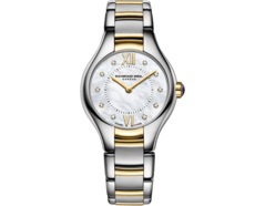 Raymond Weil Noemia Mother of Pearl Two Tone Womens Quartz Watch 24mm 5124-STP-00985