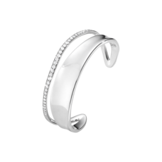 Georg Jensen Sterling Silver & Diamond MARCIA Bangle 3531295