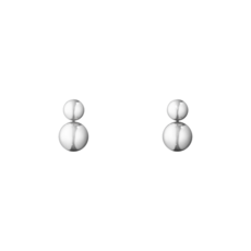 Georg Jensen MOONLIGHT GRAPES Sterling Silver Drop Earrings 3539340