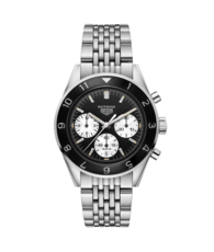 TAG Heuer Heritage Autavia Heuer 02 Automatic Stainless Steel Mens Chronograph Watch CBE2110.BA0687