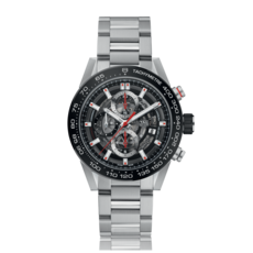TAG Heuer Carrera Calibre HEUER 01 Automatic Stainless Steel Mens Chronograph Watch CAR201V.BA0714