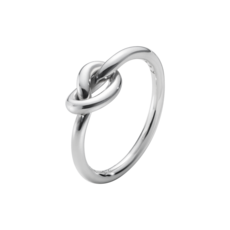 Georg Jensen LOVE KNOT Sterling Silver Ring 10003871