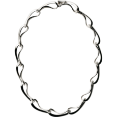 Georg Jensen INFINITY Sterling Silver Collar Necklace 3532802