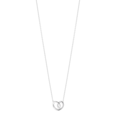 Georg Jensen HEARTS OF GEORG JENSEN Sterling Silver Pendant Necklace (small) 3536390