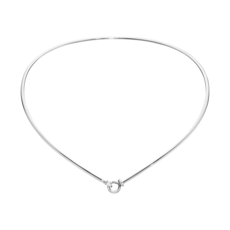 Georg Jensen DEW DROP Sterling Silver Neckring Collar Necklace 3533028