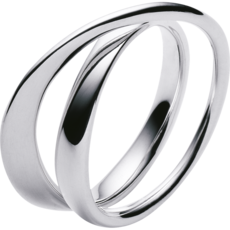Georg Jensen MÖBIUS Sterling Silver Ring 3552340