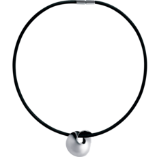 Georg Jensen MÖBIUS Sterling Silver Pendant Necklace 3536032