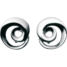 Georg Jensen CONTINUITY Sterling Silver Earrings 3539223