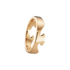 Georg Jensen FUSION 18ct Rose Gold End Ring 3541700