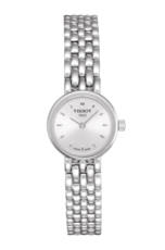 Tissot Lovely Silver Dial Stainless Steel Womens Quartz Watch T0580091103100