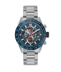 TAG Heuer Carrera Calibre HEUER 01 Automatic Stainless Steel Mens Chronograph Watch CAR201T.BA0766