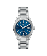 TAG Heuer Carrera Blue Dial Stainless Steel Womens Quartz Watch  WBG1310.BA0758
