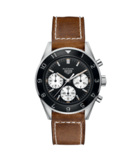 TAG Heuer Heritage Autavia Heuer 02 Automatic Stainless Steel Mens Chronograph Watch CBE2110.FC8226
