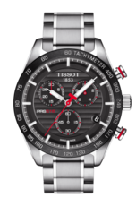 Tissot PRS 516 Black/Grey Dial Stainless Steel Mens Quartz Chronograph Watch T1004171105101