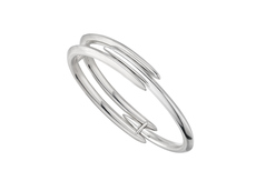 Shaun Leane Sterling Silver Triple Bar Arc Cuff Bangle SLS701