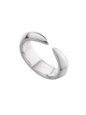 Shaun Leane Sterling Silver Arc Ring (Size P) SLS689