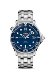 Omega Seamaster Diver 300M Co-Axial Blue Dial Stainless Steel Mens Watch 41mm 21230412003001