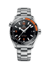 Omega Seamaster Planet Ocean 600M Omega Co-Axial Master Chronometer Black & Orange Dial Stainless Steel Mens 43.5mm Wristwatch 21530442101002